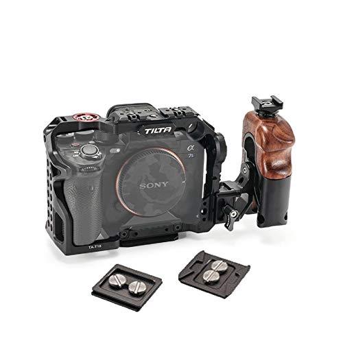 Tilta TA-T18-C - Jaula para Sony A7S3 A7sIII Half Basic para Sony Alpha 7S III / A7S III / A7S3 Tiltaing Lightweight Professional Camera Jaula Tiltaing (Tilta A7SIII Kit C(negro)