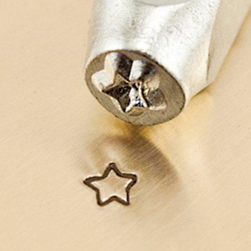 ImpressArt- 3mm, Fun Star Design Stamp