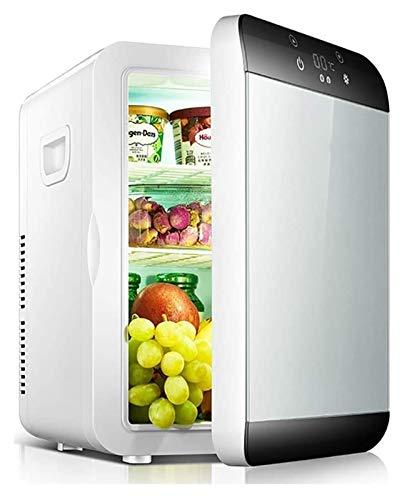 SHUHANG Mini 15L Compacto Refrigerador portátil Frigorífico Fuente de alimentación Compatible Frigorífico Calentador con termostato Digital (Size : 30x24x35cm)
