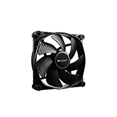 Virtually inaudible operation at max. 16.4 dBA). Air flow - 50.5 CFM. Noise level - 16.4 decibels 6-Pole fan motor for less power consumption and vibration Fluid-dynamic bearing enables super-long life span of 300, 000H Fan frame with funnel-shaped a...