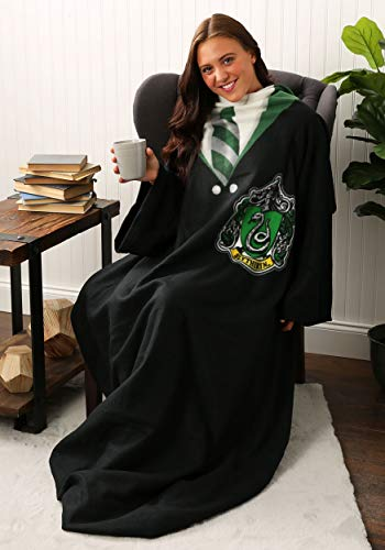 Harry Potter - Manta cómoda con Mangas, 48 x 71 Pulgadas, Reglas Slytherin