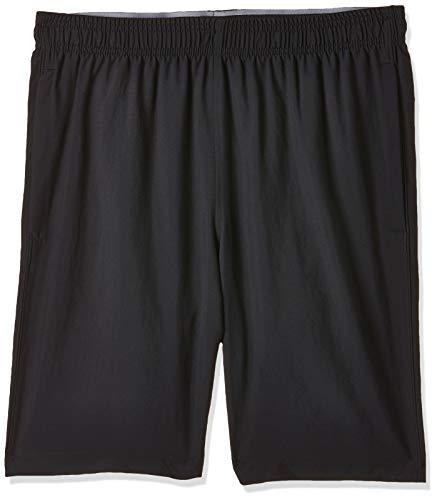 Under Armour Herren Woven Graphic Short ultraleichte und atmungsaktive Sporthose, Schwarz (Black/Steel (003)), M