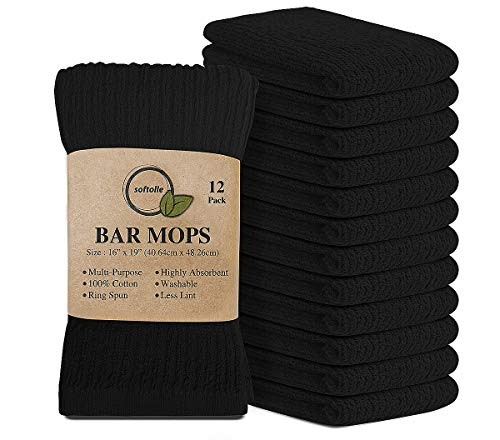 Top 10 Best Selling List for black cotton kitchen towels