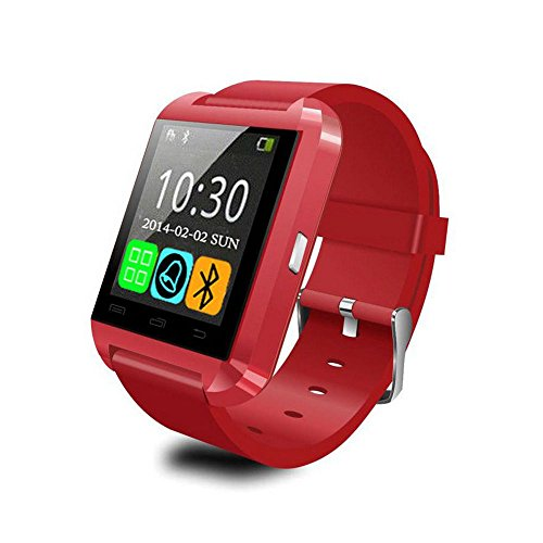 100% Original U8 Smart Bluetooth Wrist Watch Fashion Smartwatch U Watch for iPhone Android Samsung HTC LG Sony 3 Colors