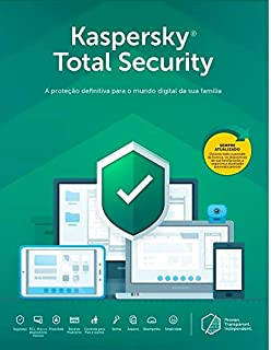 Kaspersky Total Security - 5 Dispositivos, 1 Ano - Entrega Digital
