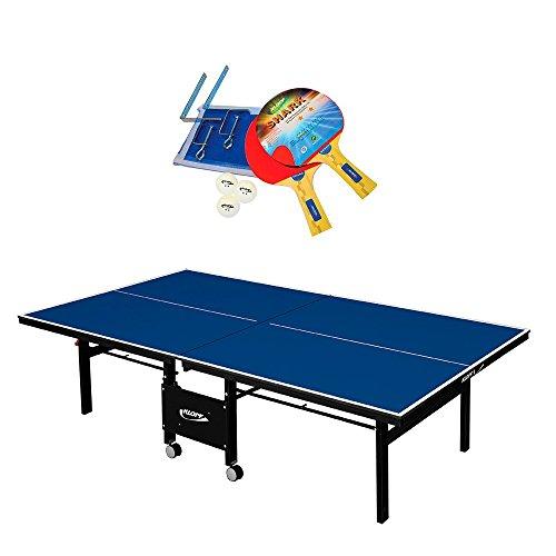 Kit Completo Mesa De Ping Pong 1084 Mdf 18mm Klopf 76kg