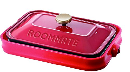 ROOMMATE3WAYホットプレートEB-RM8600Hレッド・EB-RM8600H・RED
