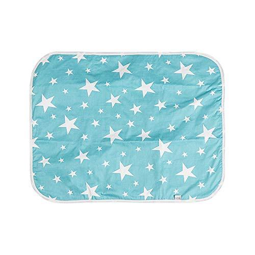 AMICE Cojín de algodón impermeable para cama de gato, colchoneta de dormir para mascotas, cojín de entrenamiento para cachorros (50 x 70 cm)