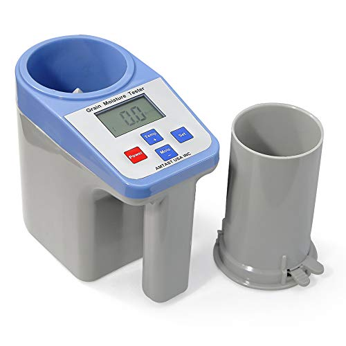 AMTAST Smart Grain Moisture Meter Grain Moisture Tester for 16 Grains Coffee Been Rice Wheat Millet Soybean Maize Corn Sorghum