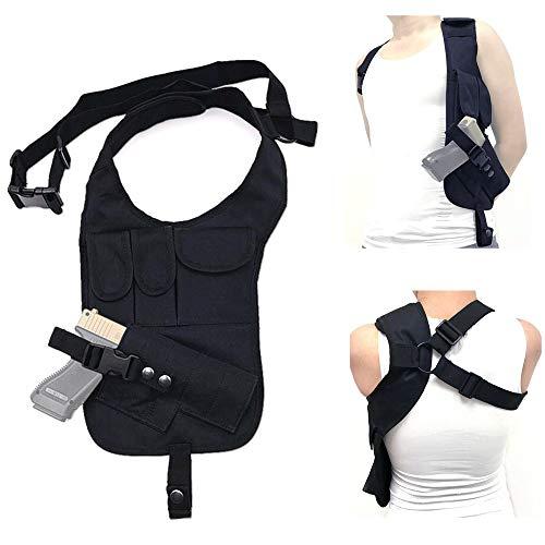 FIRECLUB Outdoor Multi-Function Tactical Pistol Hidden Gun Holster Hiking Shoulder Helmet Single Shoulder Bag Hunting Bag