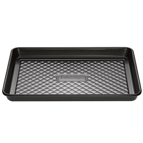 Prestige Inspire - Oven Baking Tray - Non Stick - Heavy Gauge Carbon Steel - 26.5 x 19.5 x 2 cm
