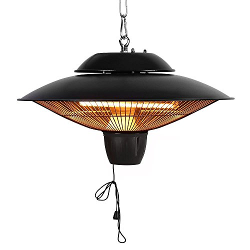 Why Should You Buy Star Patio Electric Patio Heater, Outdoor Ceiling Patio Heater, Black with Infrar...