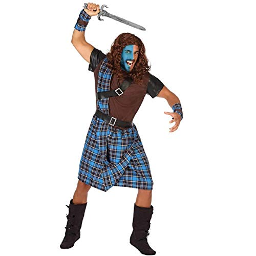 DISFRAZ ESCOCES HOMBRE ADULTO WILLIAM WALLACE