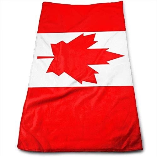 huibe Toallas de Mano Canada Flag.PNG Toallas para la Cara Toallas Altamente absorbentes para la Cara Gimnasio y SPA 30x70 cm