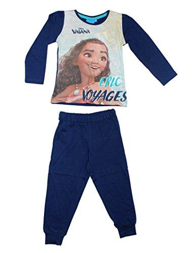 Unbekannt - Pijama - para niña azul oscuro 5 años