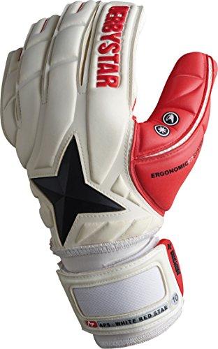 Derbystar APS White Red Star, 9,5, weiß rot, 2667095000