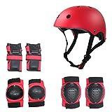 Protector de monopatín para Adultos Balance Balance Skate Protector Child Roller Skate Helmet Protector Set Kids Protective Gear SetM