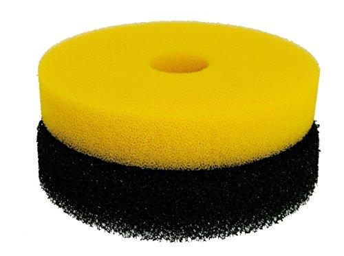 Wave Kit Eponge pour Filtre Pond Mole 8000 pour Aquariophilie 2 Pièces