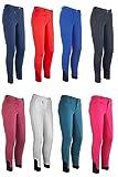 HKM by Reiterladen24 - Pantaloni da Equitazione Unisex per Neonati, 4057052275265, Blu Reale, 164