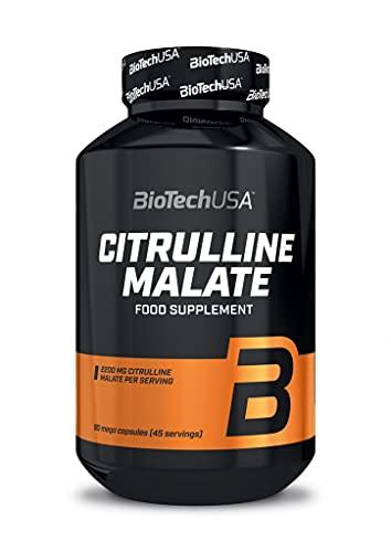 Biotech Citrulline Malate Óxidos Nítricos y Energéticos - 90 Cápsulas