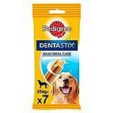 Pack de 7 Dentastix de uso diario para higiene oral para perros grandes   [Pack de 10]