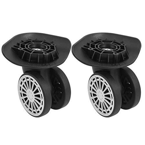 Maleta antidesgaste muda Equipaje de rueda de repuesto Ruedas universales Ruedas de repuesto Un par para estuche de viaje