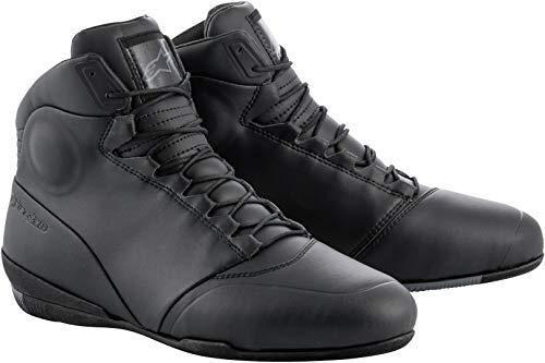 Alpinestars Men's Centre Motorcycle Shoes, Black, 8
