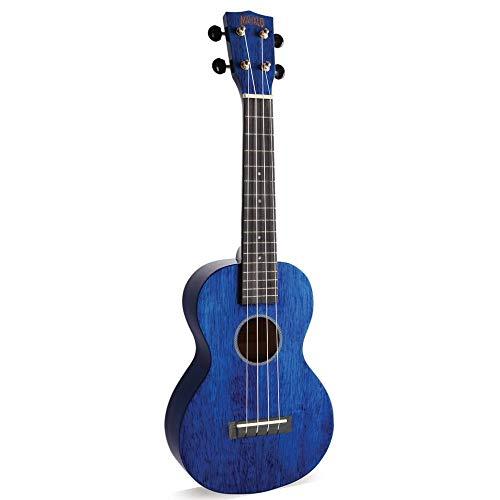 Mahalo Hano Concert 2 - Ukelele, color azul