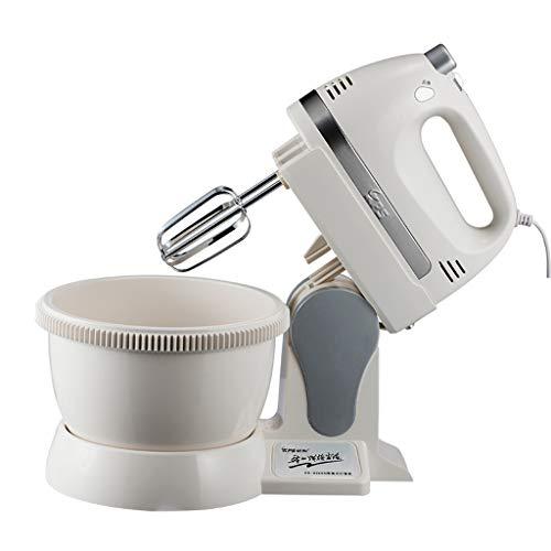 XF Batteurs sur socle Eggbeater Handheld Ménage électrique en acier inoxydable Eggbeater Cream Machine à cuire Outils - Blanc Mixeurs, batteurs et robots multifonctions