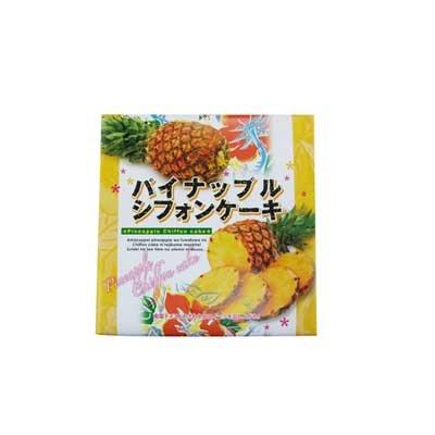パイナップルシフォンケーキ 小 9個入×6箱 幸栄堂 甘酸っぱいパインをふわふわのシフォンケーキに閉じ込めたスイーツ 沖縄土産におすすめ