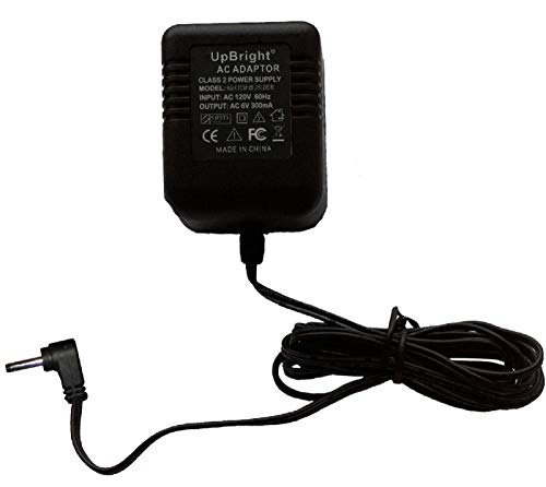 UpBright 6V AC Adapter Compatible with U060030A12V US-0603 SIL Vtech AT&T DS6101 CRL82312 CRL82212 CS6919 CS6529 CS6619 CS6629 CS6859 EL52100 EL52109 TL86009 DM111 CRL8111 Phone Handset 6VAC (NOT 6VDC