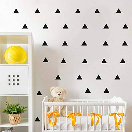 WHFLL Geometrische patronen driehoekige muursticker verwijderbaar Home Decor Art Muurtattoos baby slaapkamer behang wooncultuur
