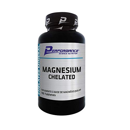 Magnesium Chelated (100 Tabs), Performance Nutrition