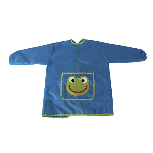 Rayher 69079000 Craft Tablier pour enfant 110 135 cm tissu bleu