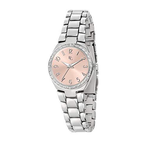 B&G Reloj Mujer, Colección Legend, Analógico, Solo Tiempo, en Acero, Aleación - R3853278503