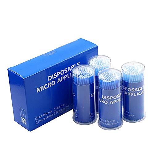 Yiwa 400 stuks wegwerpapplicator voor tandenborstels, medisch hulpmiddel, wattenstaafjes, lijm voor mondverzorging