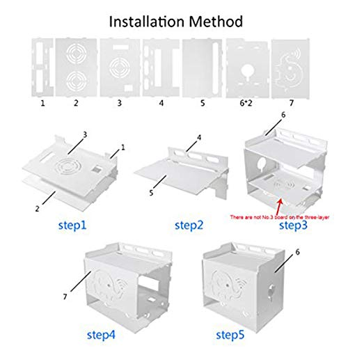 Large-4 Layer Simple Easy to Install Saim Multi-Function WIFI Router Storage Boxes Shelf for Home and Office