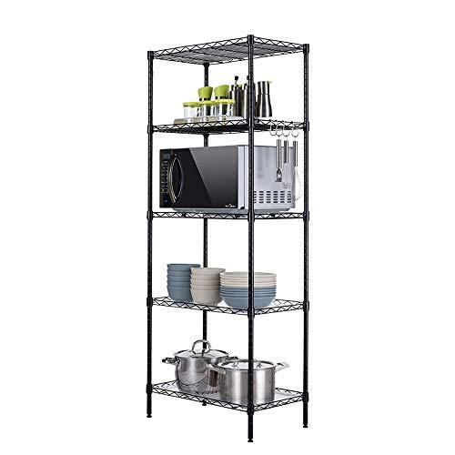 All-Purpose Regale Metallregale Verstellbare Regale Für Wäsche Bad Küche Abstellraum Schrank