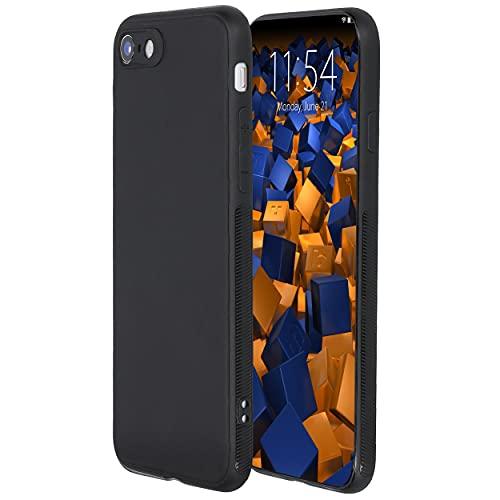 mumbi Hülle kompatibel mit iPhone 7 / 8 Handy Hülle Handyhülle double GRIP, schwarz - 4.7 Zoll