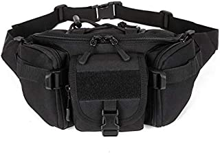 Outdoor Tactical Waist Pack Pouch for Men, Water Resistant Packs Hip Belt Bag Pouch for Hiking Climbing