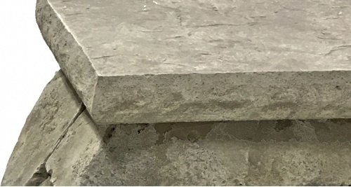 Concrete Countertop Edge Form - Chiseled Granite