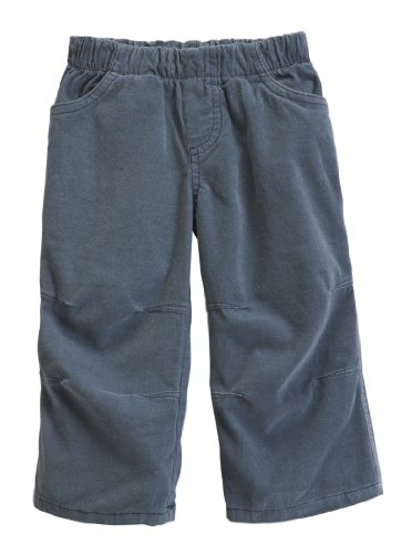City Threads Boys' Corduroy Pull-Up Pants for School or Play; Comfortable for Active Children Toddler Warm Cords for Sensitive Skin or SPD Clothing - Concrete - 14