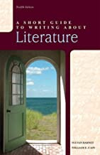 A Short Guide to Writing about Literature (12th Edition)