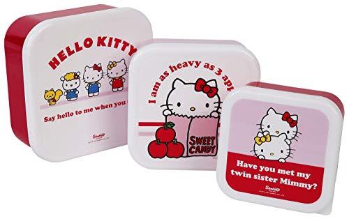 Hello Kitty - Macetas de Almacenamiento, Multicolor