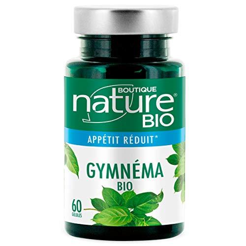 Boutique Nature - Complément Alimentaire - Gymnéma BIO - 60 Gélules Végétales - Réduit l'appétit