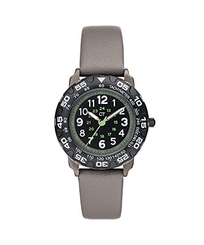 Cool Time Jungen Kinder Armbanduhr (grau)