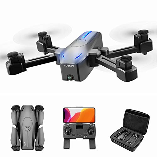 XIAOKEKE 4K GPS FPV RC Drone with HD Camera Live Video and GPS Return Home, Large Quadcopter with Adjustable Wide-Angle Camera, Follow Me, Altitude Hold, 20 Minutes Flight, Long Control Range