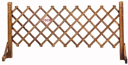 PetSafe SmartDoor Pet Tor Holzpalisadenzaun Garten Panels aus Holz Hund Folding Tor Expanding Panel-Fold-Lage Innen Außen Freistehendes Safety Gate Tragbare Trennung Haustier-Sicherheits-Barrier-Schut