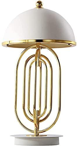 GDICONIC Lámpara LED Lámpara de Mesa Decorativa de Lujo Minimalista posmoderna Estudio de Sala de Estar Personalidad Creativa lámpara de Mesa giratoria de Dormitorio de Estilo nórdico 30 * 60 cm
