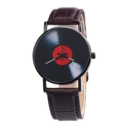 Mode Beiläufig Uhren Unisex Retro Analoge Legierung Quarzuhr für Damen Herren Armbanduhr Uhr Groveerble